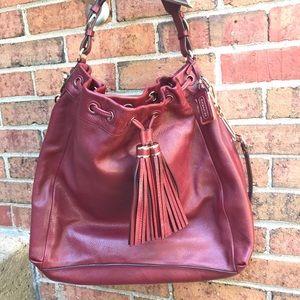 Coach Madison Pinnacle Drawstring Shoulder Bag